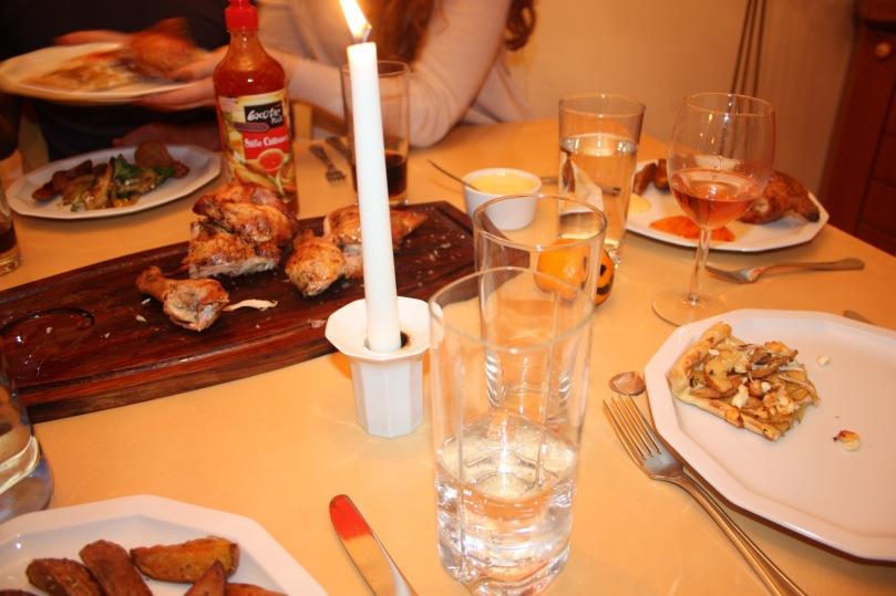 family dinner hendl vom grill9